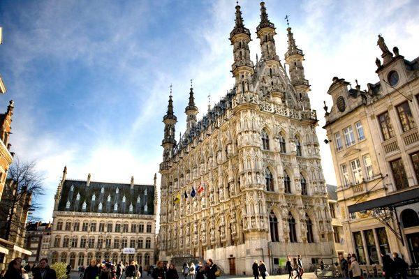 Leuven-town-hall